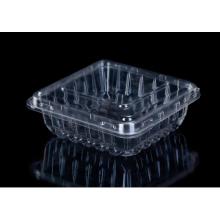 Recipiente de plástico transparente para animais de estimação
