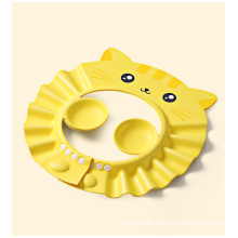 Super high elastic baby shampoo tool Shower cap with ear protection Children's adjustable shampoo cap Child safety shampoo cap