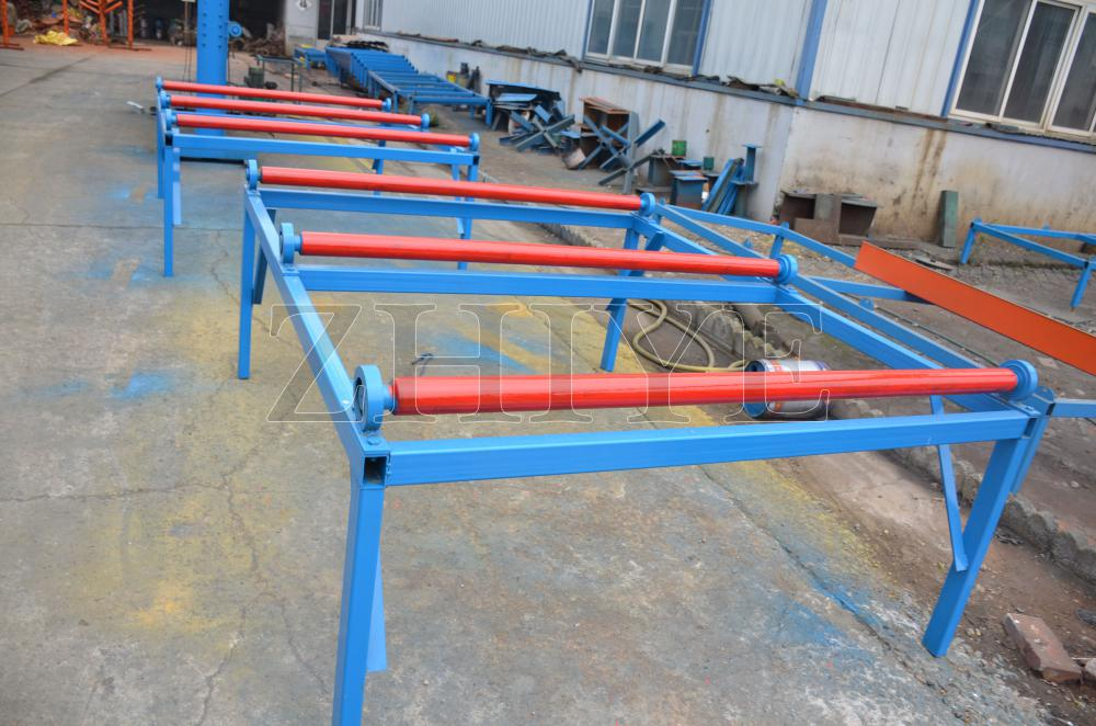 CNC Botou Aluminium Storage Shelving Making Machine
