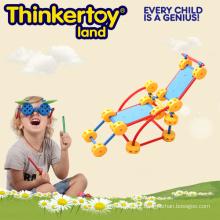 2015 brinquedo do quebra-cabeça 3d educativo da venda quente para a geometria da matemática