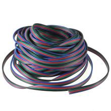 O Pin 4 conduziu o cabo de fio da extensão do RGB para a luz de tira de 3528 5050Led