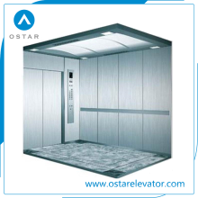 1600kg 1.0m/S Big Space Stable Hospital Elevator with Best Price