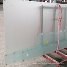Wholesale Double Side Acid Etched Water Frosted tempered sandblasted Glass