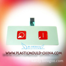 car accessory double color plastic mould with 2 years warranty