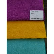 Tissus de coton de tissu éponge CVC de polyester textile