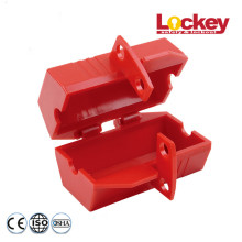 Large electrical plug safety lockout