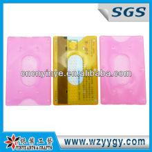 plastic rigid PP card holder for school