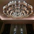 Морден и большой размер Flower Round Hotel Luxury Crystal Pendant Lamp