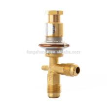 Válvulas de expansión de presión constante de bypass de gas caliente