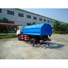 Fornecimento de fábrica 4 cbm único braço lixo caminhão
