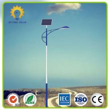 Solar street light housing in Nigeria