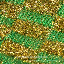 2015 caliente las ventas de materias primas de esponja de esponja de exportación a EE.UU. mercado material de tela para la cocina esponja de limpieza