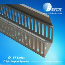Électrique enduit de PVC / Metal Galvanisé de voie de goulotte de chemin de câbles Fabricant (UL, cUL, GV, CEI, CE)