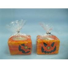 Artisanat en céramique en forme de bougie de Halloween (LOE2368-6.5z)