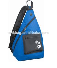 Packable Polyester Outdoor Shoulder Backpack Cross Body Bag Sling Pack