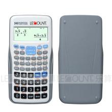 Calculadora científica de 240 funções com tampa traseira deslizante (LC782MS)