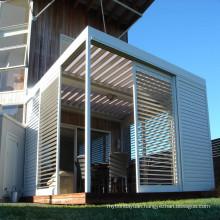 Cheap Cost External Aluminum Sliding Plantation Window Slat Shutters