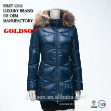2017 New Women's Fur Collar long women's winter down coats