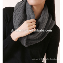 Wholesale women new fashion various colors knitted snood scarf