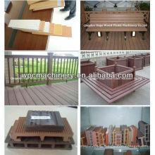 PP PVC PVC WPC plinthe ligne de production / WPC board extruder / profile machine