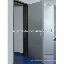 Portes de sécurité anti-bulles en acier personnalisées, fenêtres et portes résistant aux balles