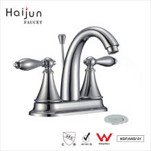 Haijun 2017 diseño único artístico grifo de mezclador de baño de latón termostática