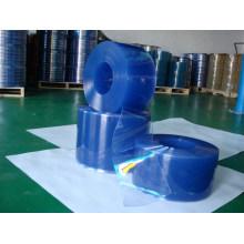 Porta de tira de PVC Transparente Flexível Anti-Instatic Cortina de tira de plástico