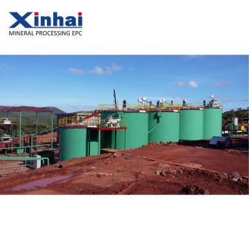 Planta de processamento de minério de zinco de chumbo de cobre