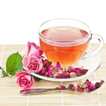 Chá de florescência chinesa chá rosa pura da flor
