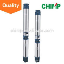 CHIMP 6inch 3kw stainless steel bore three phase 380V/415V submersible deep well pump