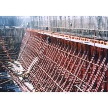 Einseitige Propellerrohrhalterung für Betonwandschalungen