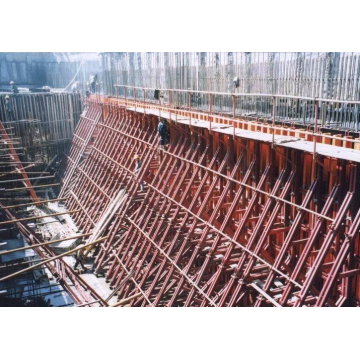 Single-side Prop Pipe Support for Concrete Wall Formwork