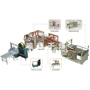 Bag automatic packing palletizing system manfacturers