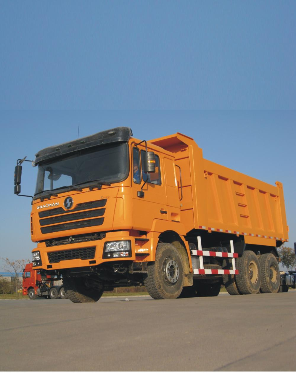 SHACMAN 6X4 DUMP TRUCK 385 HP VỚI COMMINS ENGINE