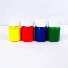 Pasta de color de pigmento para la impresión textil de pantalla / Uso de látex