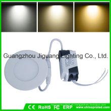 Luz de painel redonda ultra magro do diodo emissor de luz com 2 anos de garantia