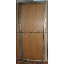 Perfil de moldura de porta de liga de alumínio