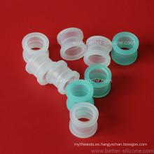 Cojinete moldeado personalizado del rodamiento de Ployurethane de la goma de silicona