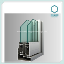 Anodized Aluminium Window System Channel