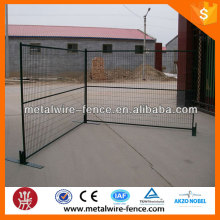Portable powder coating welded temporary fence for Canada market