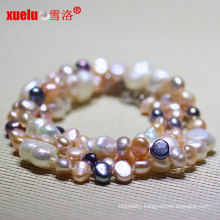 Latest Design Big Baroque Freshwate Pearl Necklace Jewelry