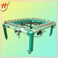 T Pneumatic screen printing stretching machine,screen printer stretching machine,mesh stretching machine