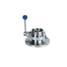 Stainless Steel Threaded Flange Butterfly Valve