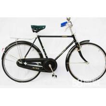 Bicicleta de alumínio estrada cidade com aparência clássica