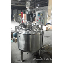 stainless steel electric heating beverage liquid mixing tank with agitator