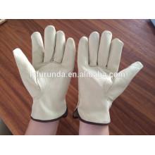 Pigskin Leder Arbeitshandschuhe, Fahrer Handschuhe / AB Klasse