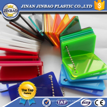 made in China advertising outdoor tinted color pmma sheet