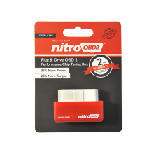 Nitro OBD2/Eco OBD2 OBD2 Chip Tuning Box Lower Fuel and Lower Emission for Benzine Gasoline and Diesel Cars