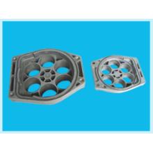 Zócalo de la cáscara de la máquina de encargo y piezas de fundición de aluminio
