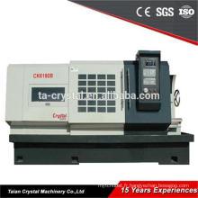 machines de tour cnc de filage en métal de grand diamètre CK6180B